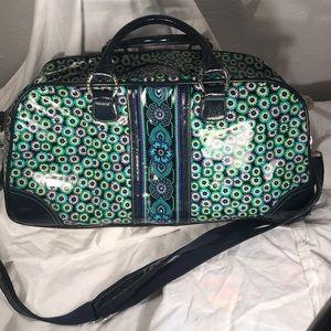 Vera Bradley Frill Travel Bag